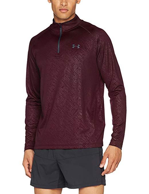 Men s Under Armour Tech Emboss 1 4 Zip Review  88dd340f1f