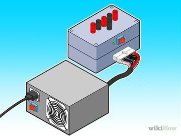 Create a 12 Volt DC Test Bench for Bullet Cameras Using an Old ATX ...