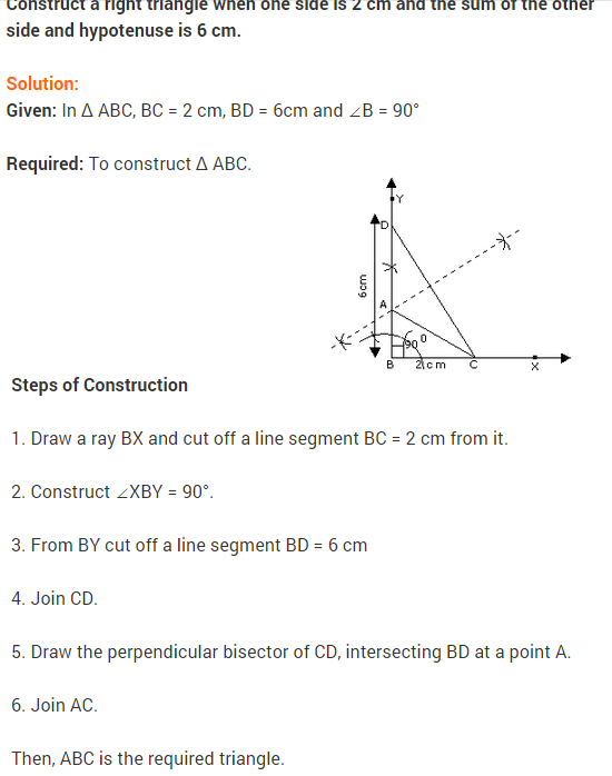 Constructions NCERT extra questions for class 9 maths #NCERT