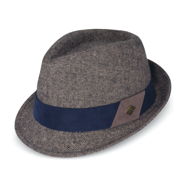 1727c53b36f The Bastion Polyester Fedora hat - Goorin Bros Hat Shop
