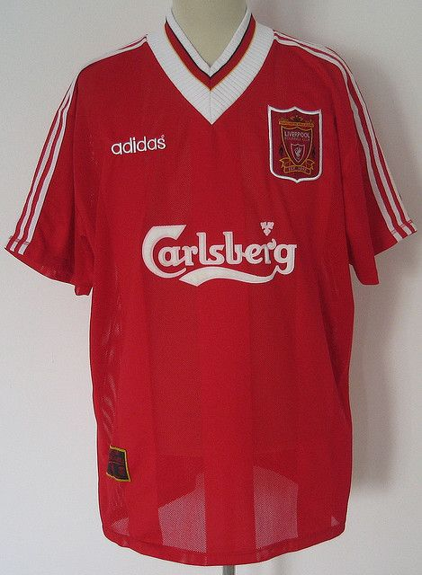 5fdef5e36 Liverpool FC 95 96 adidas Home Kit by shaun wong