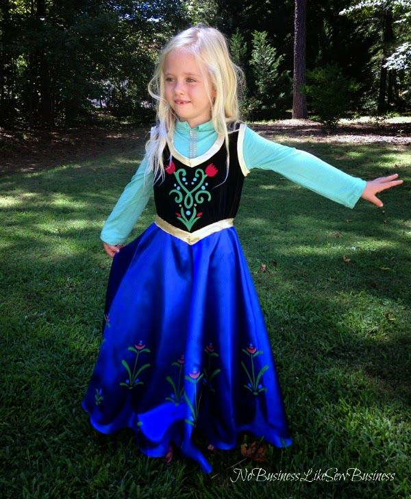 No Business Like Sew Business: Princess Anna Costume | DIY Costume ...
