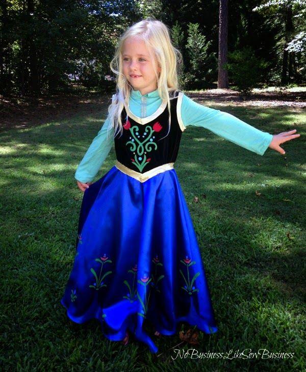 Anna costume pattern