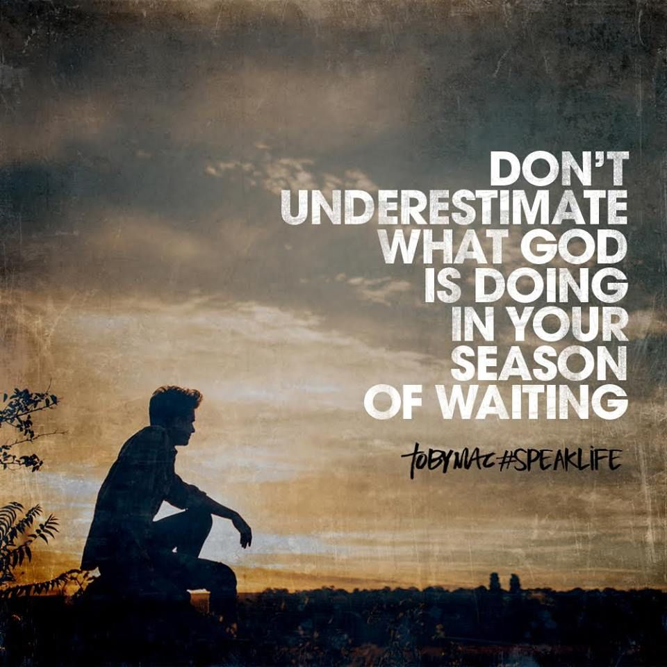 Don't Underestimate What God Is Doing In Your Season Of