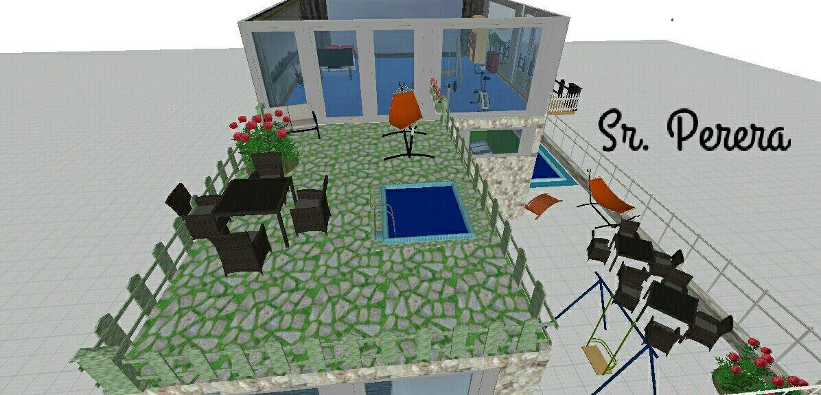 #Loft #Terraza #Sr_Perera Primer proyecto en#Planner5D