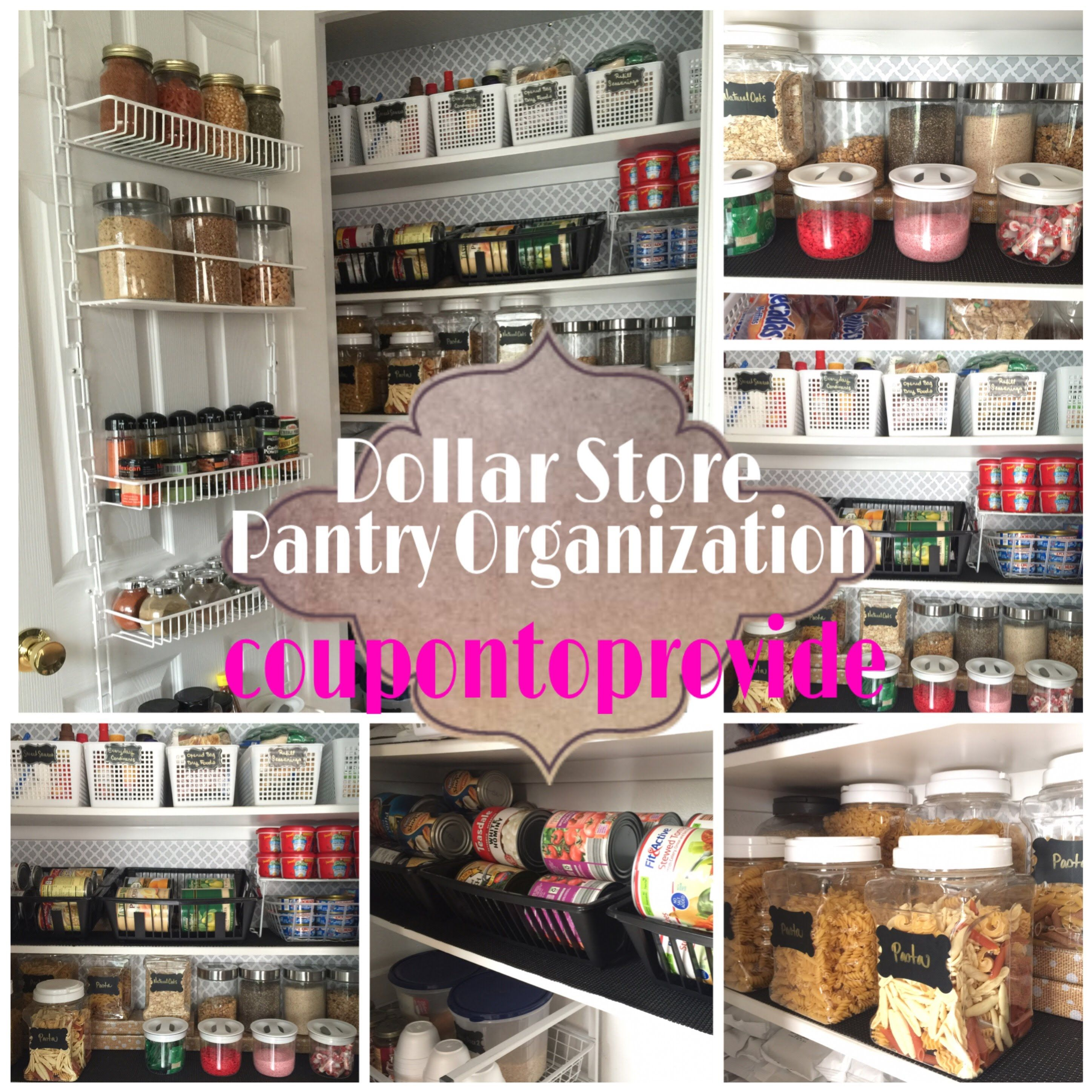 How To Organize Pantry Youtube