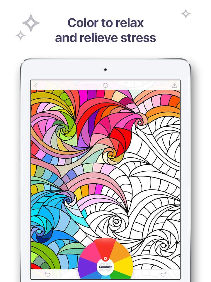 Find Joy And Color Your Stress Away Plunge Into A Fairy World Of Coloring With Book For Me App Perfect Tool To Relax While The Time