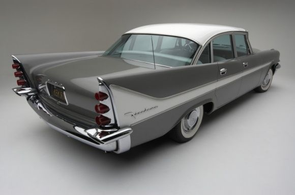 1958 Desoto Firedome-My first car was shell pink and pearl white.