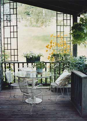 Porches~ | Porches! Gardens! | Pinterest | Jardines, Muebles y Porches