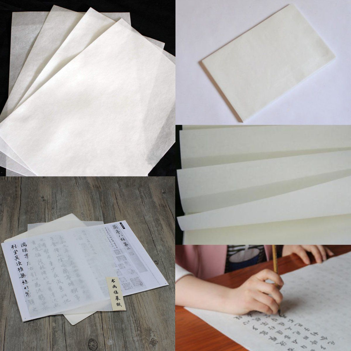 10 Sheets Chinese Calligraphy Rice Xuan Paper Sumie