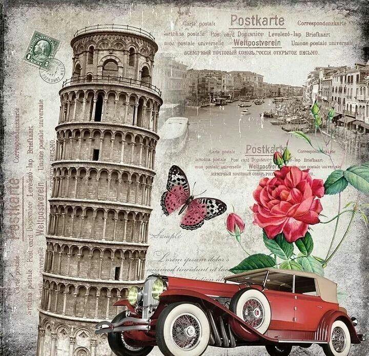 Открытки итальянские виды, юбилеем