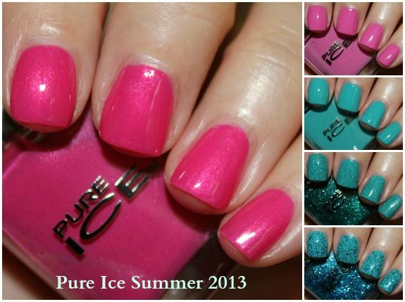 Pure Ice Summer 2013 Nail Collection Swatches and Review - Vampy Varnish