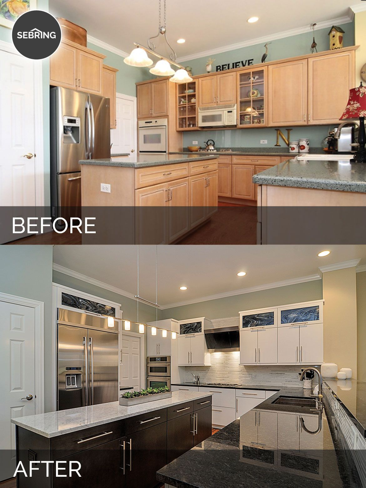 Doug Natalie S Kitchen Before After Pictures Kitchen
