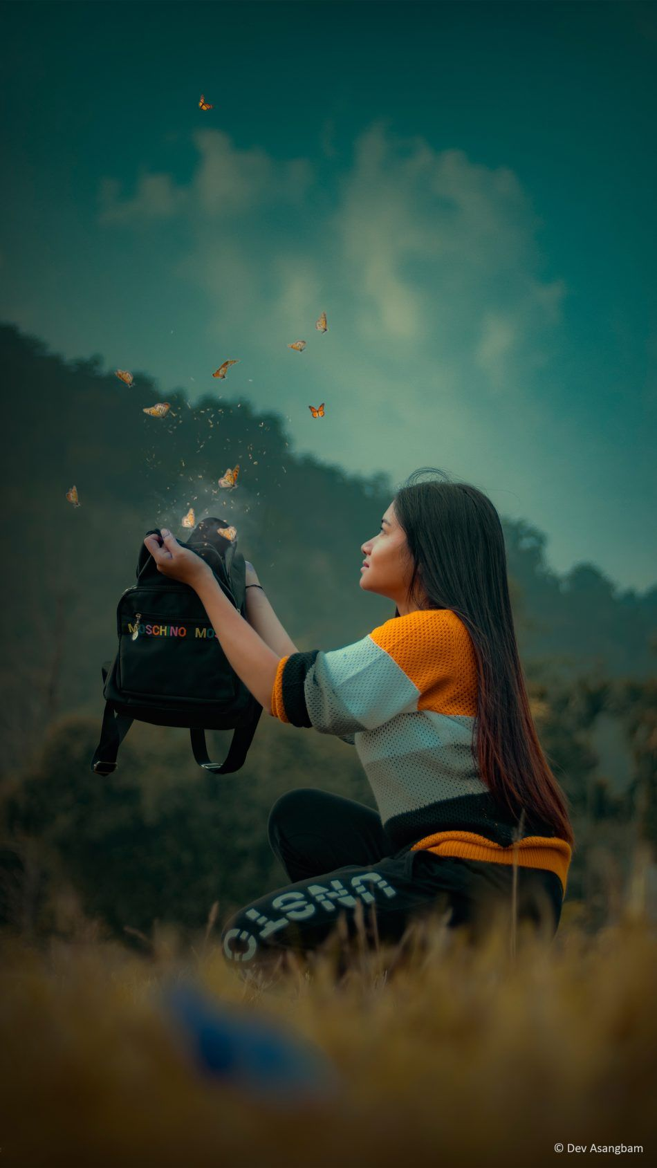 Girl Fantasy Butterflies P Ography 4k Ultra Hd Mobile Wallpaper
