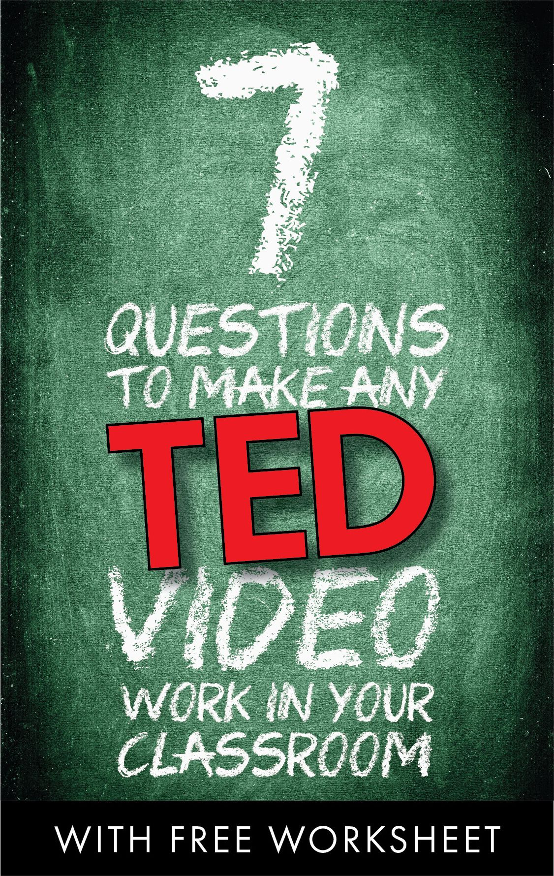 7 Questions To Use With Any Tedtalk