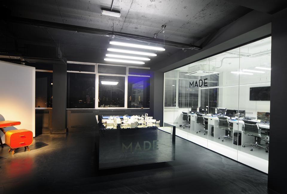 Retail Design Bureau.Made Com Showroom By Bureau De Change Design Office Delood