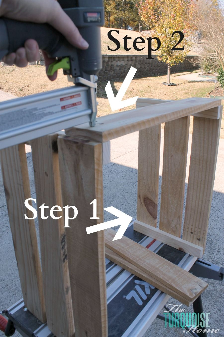 How to Build a Crate Tree Collar Pallet diy, Wood