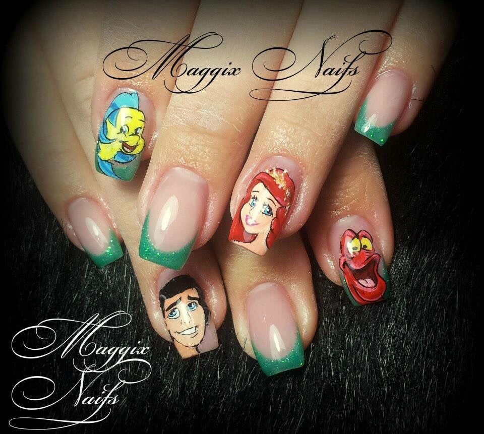 Pin von Kathy Knight auf Disney Nail Designs | Pinterest