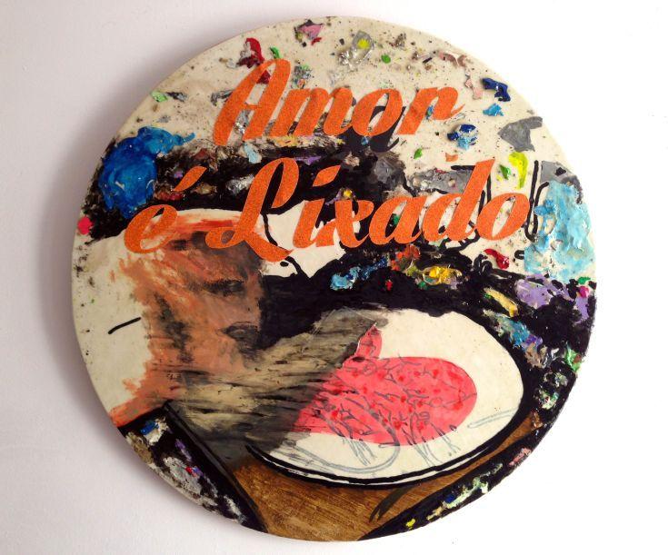 "ARTFINDER: I love too much by Eduardo Bessa - I love too much. I like so much to love, but I think i love too much...  Amor é lixado. (PT) or (Amar é lixado. (PT) there is ""a"" behind ""o"") Love is san..."