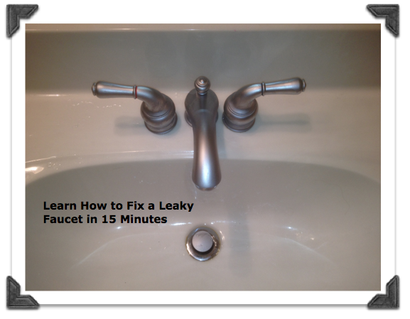 Fix a leaky moen bathroom faucet in less than 15 minutes for Cost to replace bathroom faucet