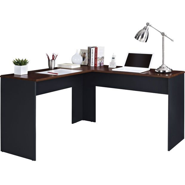 a2b5a334206 Ameriwood L-Shaped Desk in Espresso