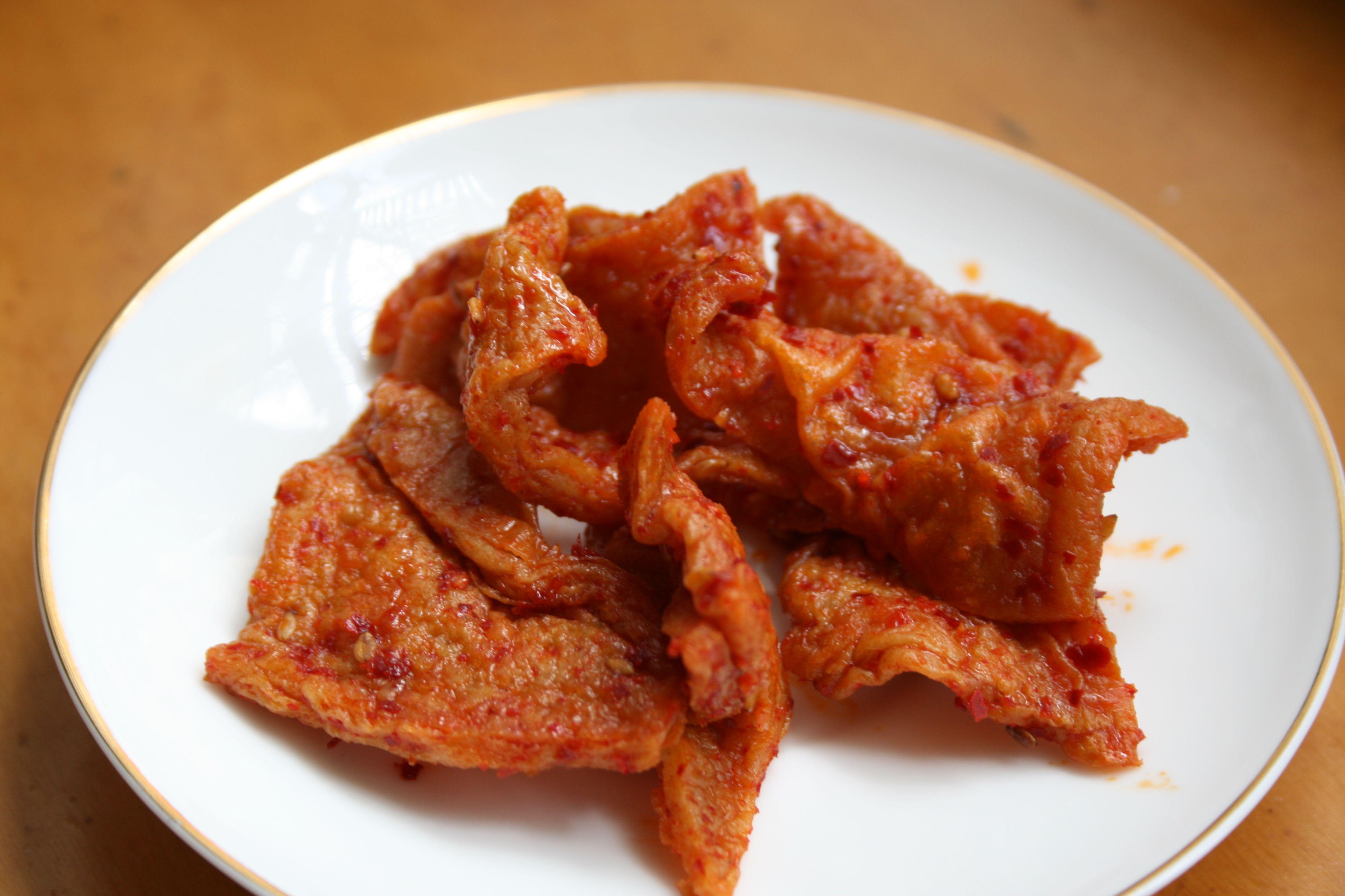 Odeng Banchan Fishcake Side Dish Fish Cake Food Dishes Korean Dishes