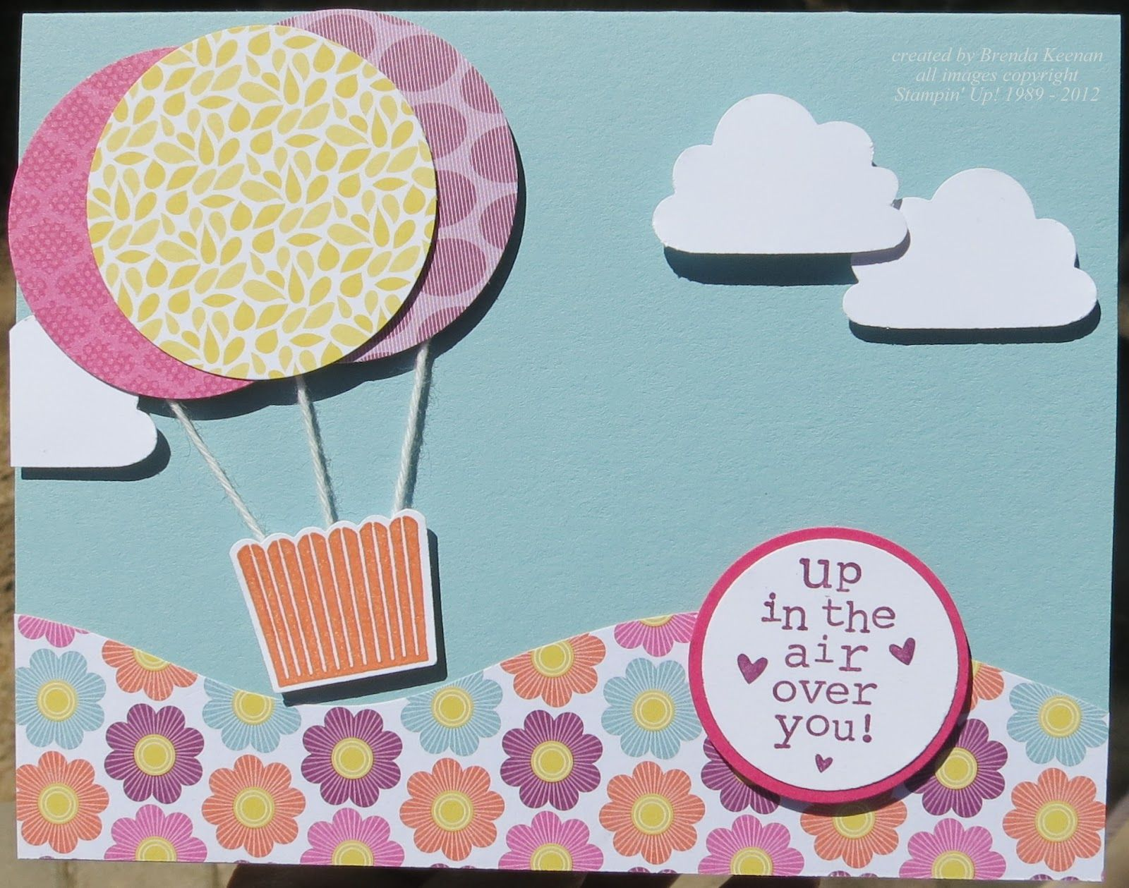 Keenan kreations stampin up cupcake punch for hot air balloons keenan kreations stampin up cupcake punch for hot air balloons jeuxipadfo Gallery
