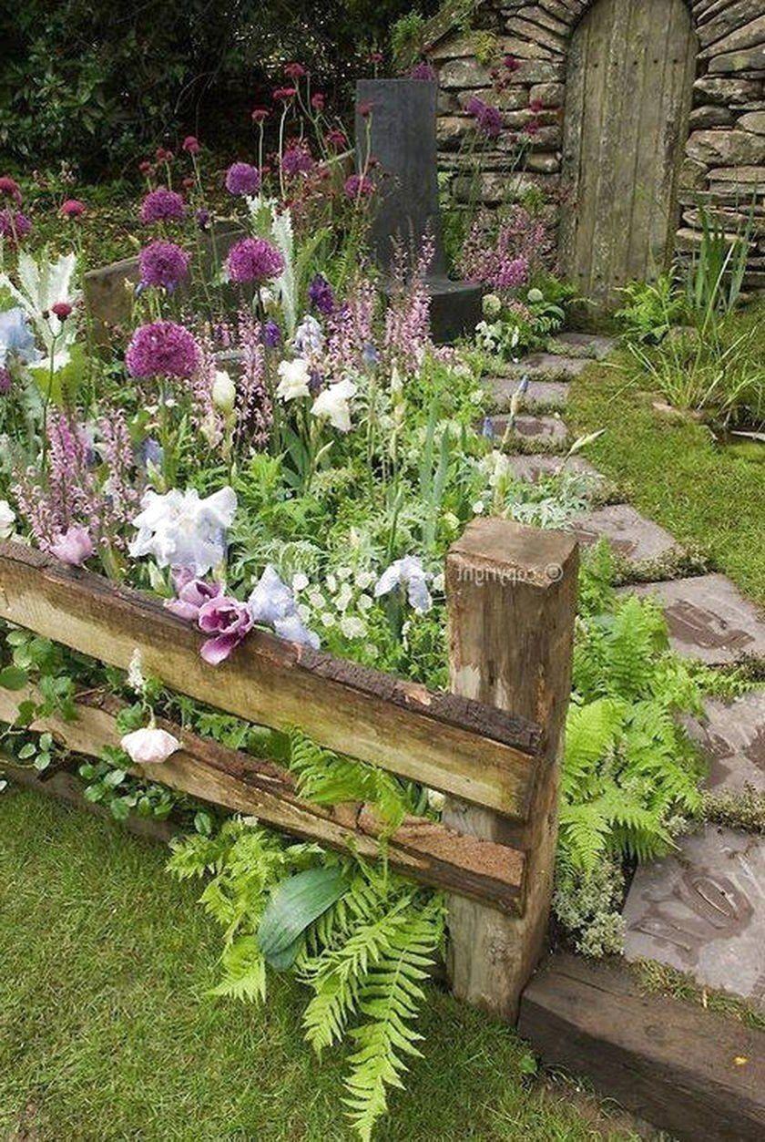 50 Increibles Ideas De Decoracion De Jardines Para Su Hogar Acerca Del Diseno Experto Acerca Decoracio In 2020 Amazing Gardens Cottage Garden Design Cottage Garden