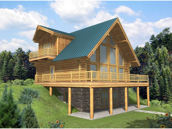Room For Man Cave Mountain Cabin Plans In 2019 Log Home Plans Log Cabin House Plans Cabin House Plans