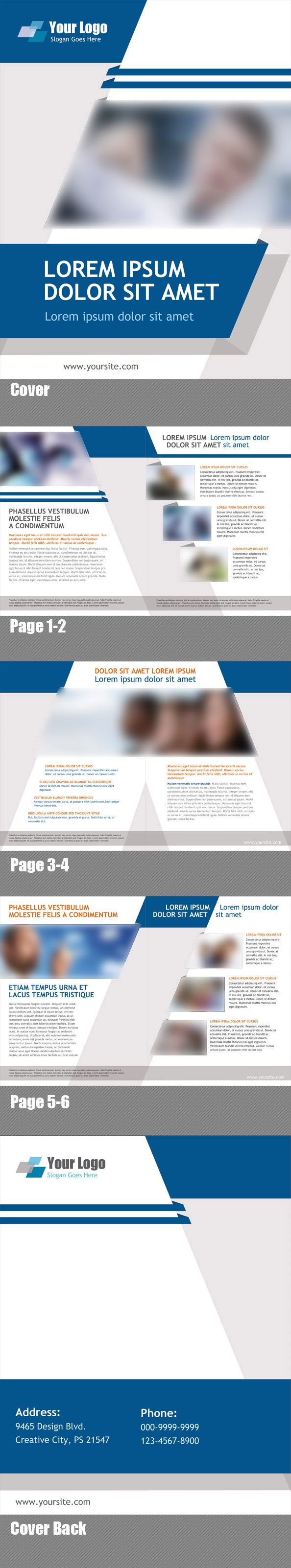 Nice Marketing Brochure Templates Set  Check More At Http