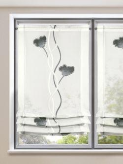 Raffrollo ~ Modern & Floral. Gardinen-Outlet.com | Raffrollos ...
