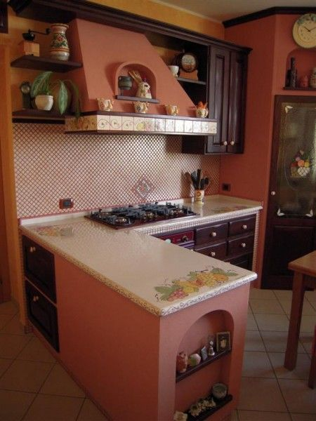 Cucine in Muratura - Cu.Ce.Mur - Cucine in Muratura, Tavoli in ...