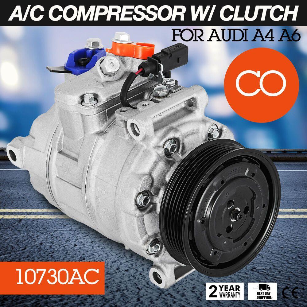 (Sponsored eBay) SET AC Compressor 10730 for Audi A4 A6