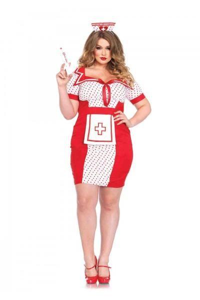 Red Sexy Paramedic Nurse Halloween Costume Sexy Occupational