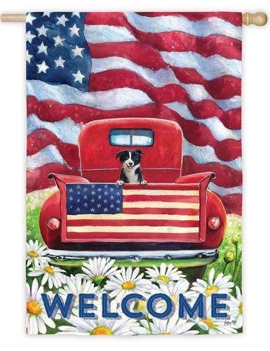 "ANTIQUED PATRIOTIC 12/"" AMERICANA AMERICAN G8T W BLACK BARN STAR FLAG"