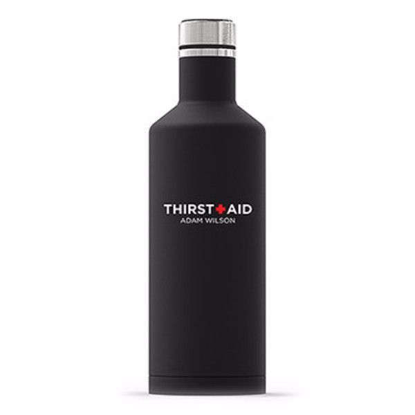 Times Square Travel Bottle - Thirst Aid Printing