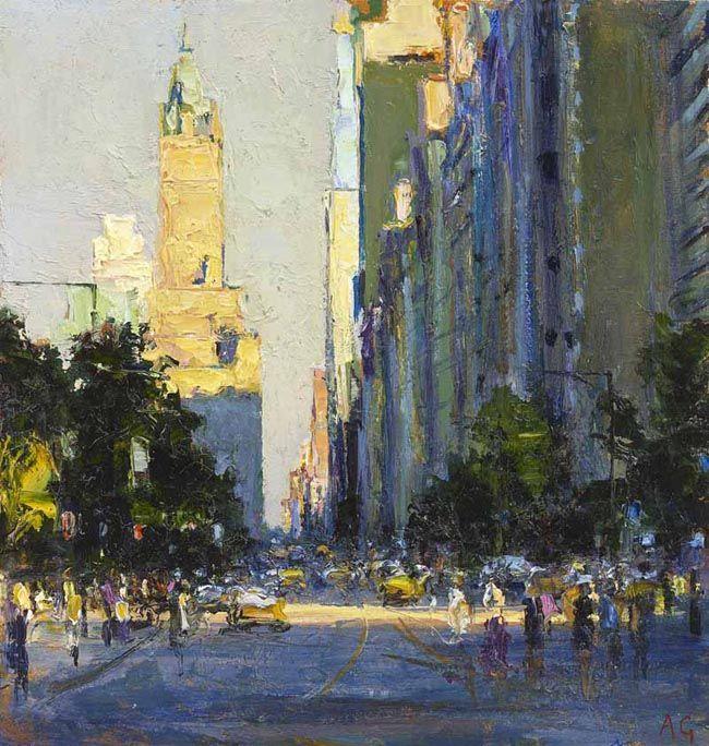 John Martin Gallery - Andrew Gifford, New York Paintings | Andrew ...
