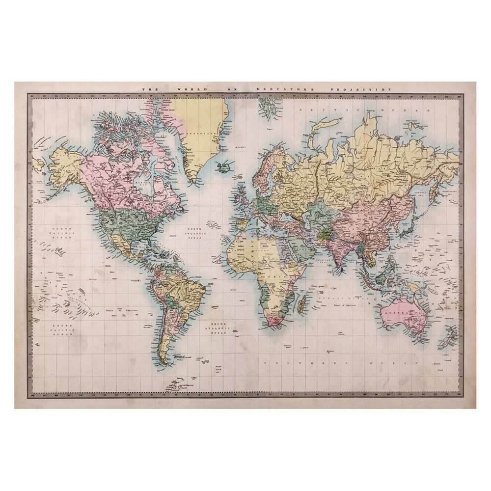 Jp london design inc mdxl2258ps ustrip global world map earth large world map poster giant world map print antique world map print antique world map poster giant wall map gumiabroncs Image collections