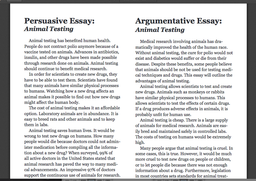 argument essay example 5 Argumentative essay examples and tips may 29, 2014 by natasha quinonez essays are very common in high school and college, and you're usually required to write these essays without much input from the teacher about them.