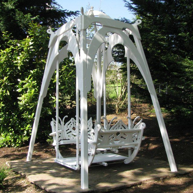 The Ultimate Garden Glider Swing This
