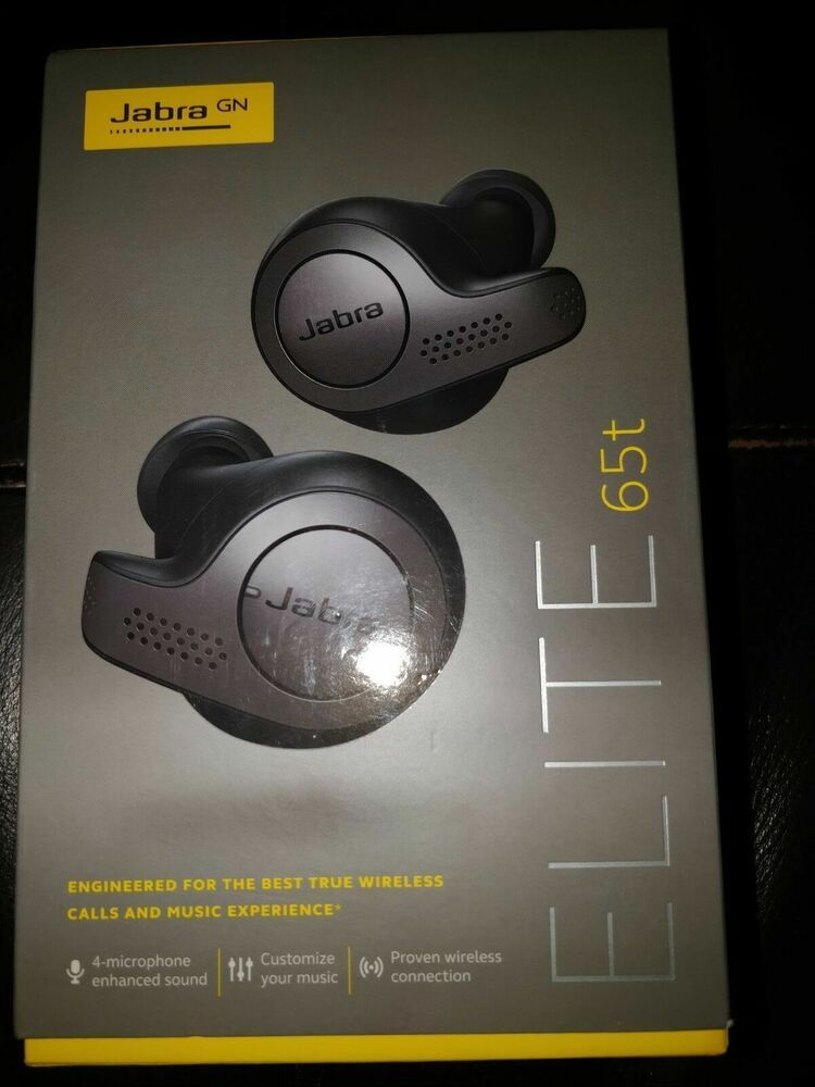 38f77b4cf29 eBay #Sponsored Jabra GN Elite 65t True Wireless Earbuds 4 microphone  enhanced sound NICE MUSIC