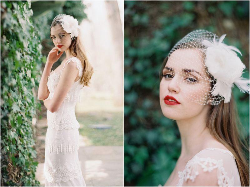THE NORWEGIAN WEDDING BLOG | Inspirasjon Brud og Bryllup | Ultimate Bridal Inspirations: Enchanted Atelier - Coutoure Accessories | Tilbehør til Brud | Brudeslør | Hårpynt | Claire Pettibone