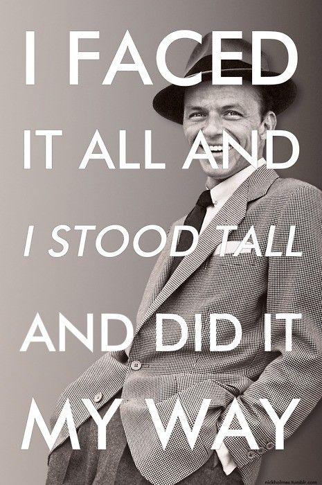 Frank sinatra lyric quotes