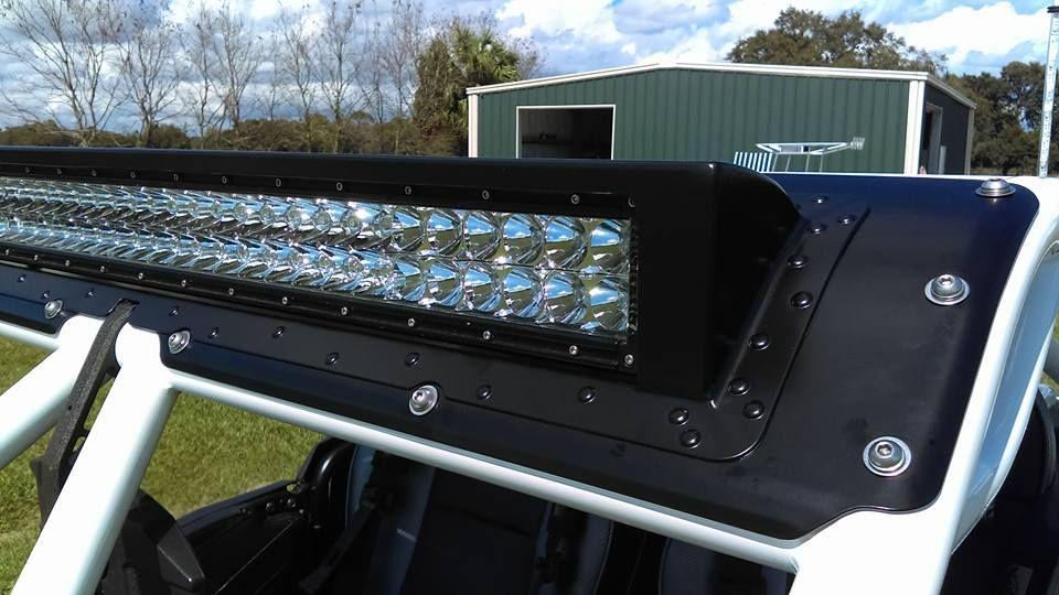 Polaris RZR 1000 Aluminum light bar cover  | Polaris RZR Cages