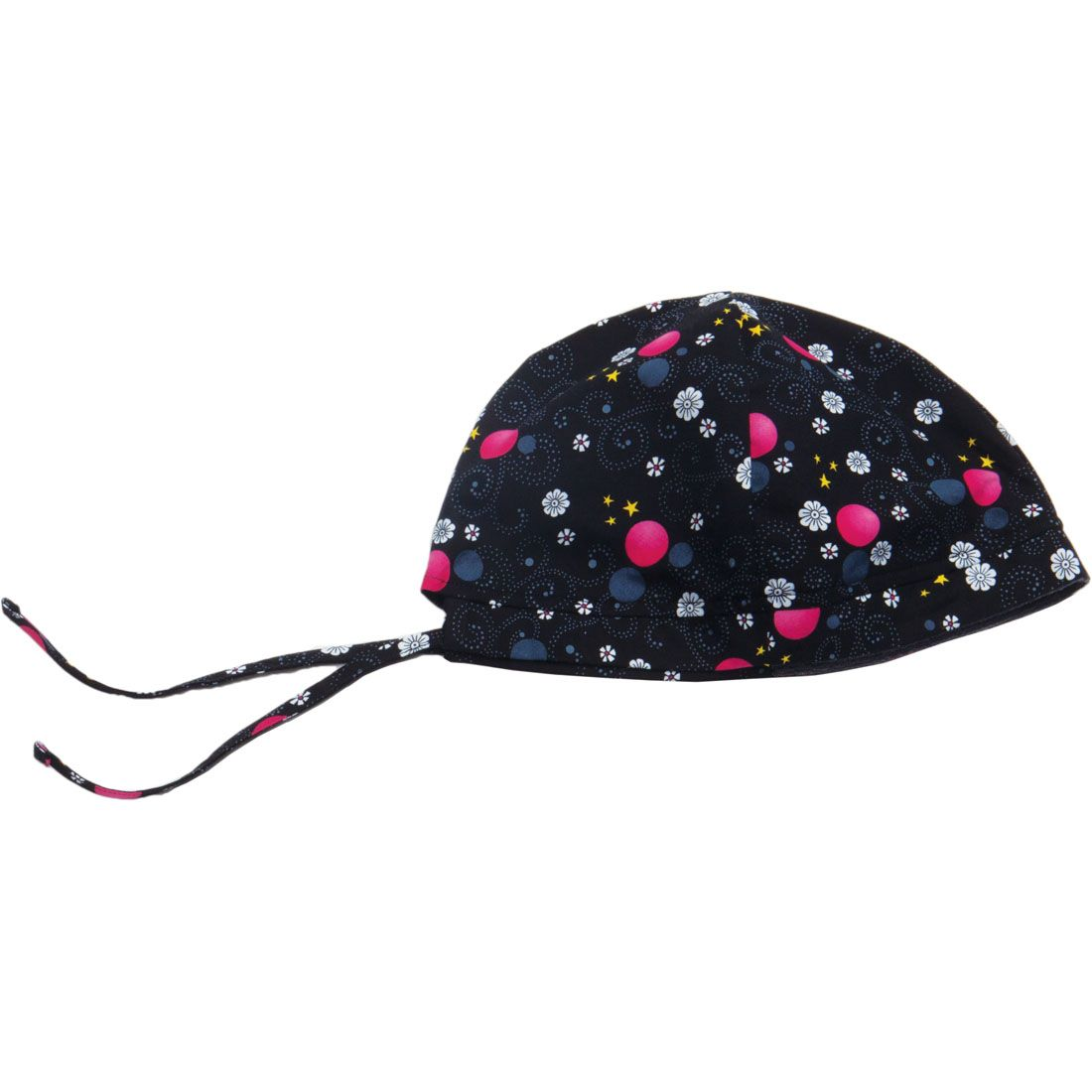 e03805ea3 A one size fits all scrub hat with a soft inside terry cloth band ...