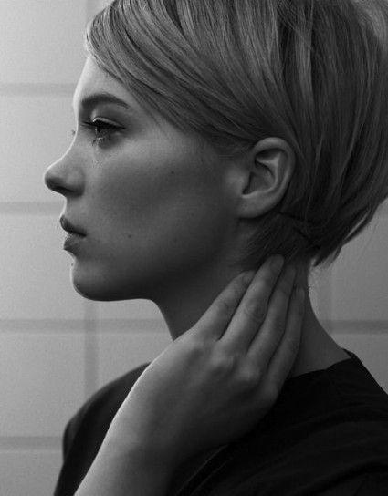 Taglio capelli corti con ciuffo laterale 2015