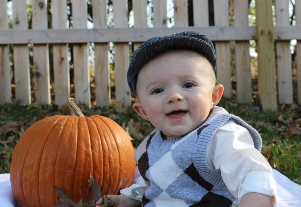 Halloween baby pic