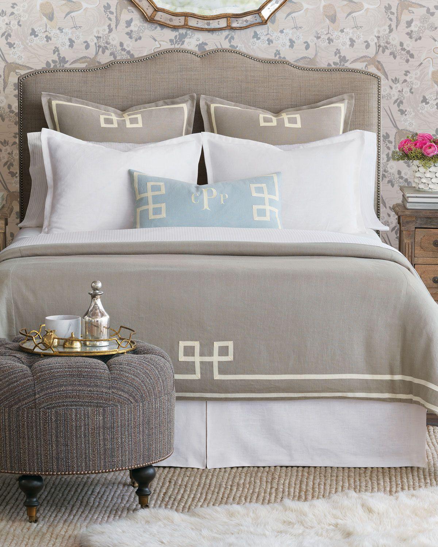 Resort Fret Oversized King Duvet Luxury bedding, King