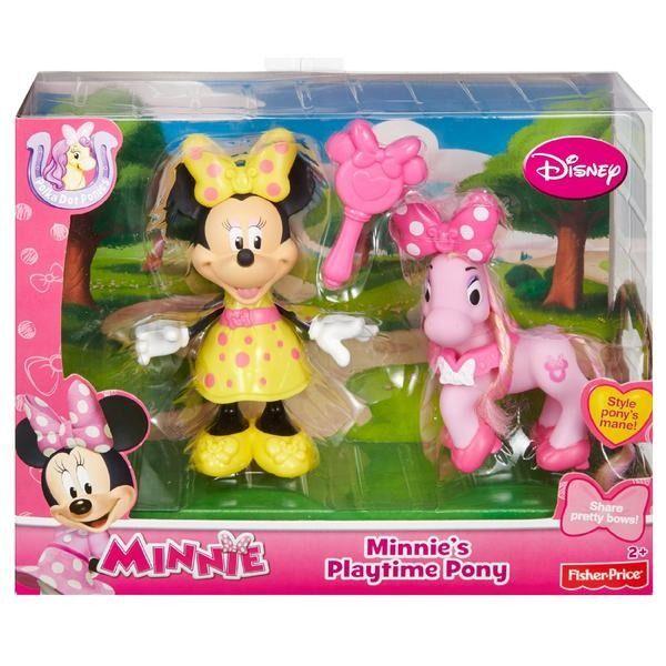 Fisher Price Minnie S Playtime Pony Playset New Sealed Minnie Mouse Toy Age 2 Fisherprice Minnie Mouse Toys Minnie Mouse Doll Kids Toy Gifts