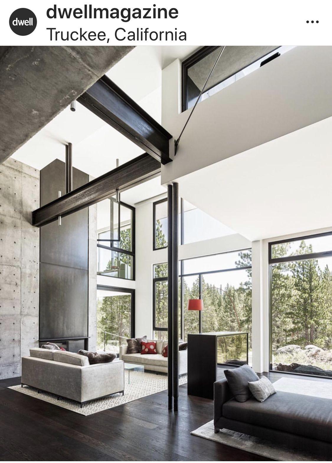 Dwell Magazine Modern House Design Contemporary House Modern Interior Design